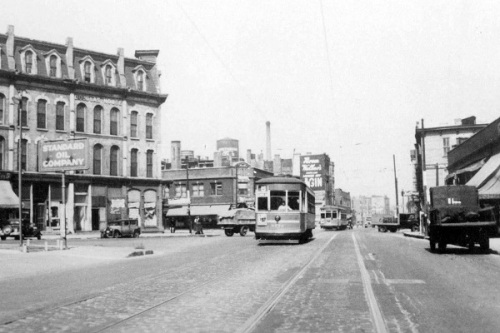 1939--Cottage Grove Avenue @ 35th, view northwest