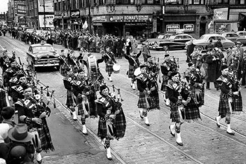 South Side Irish Parade, 1953